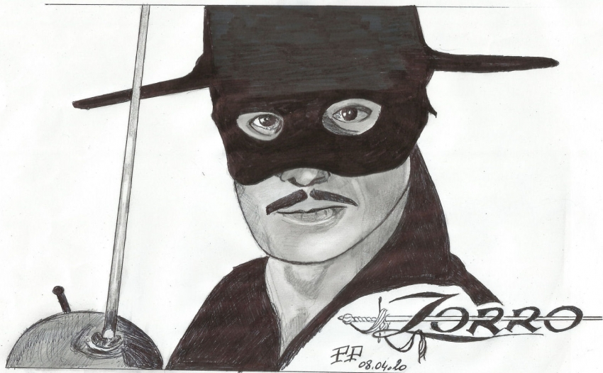 Zorro par Patoux